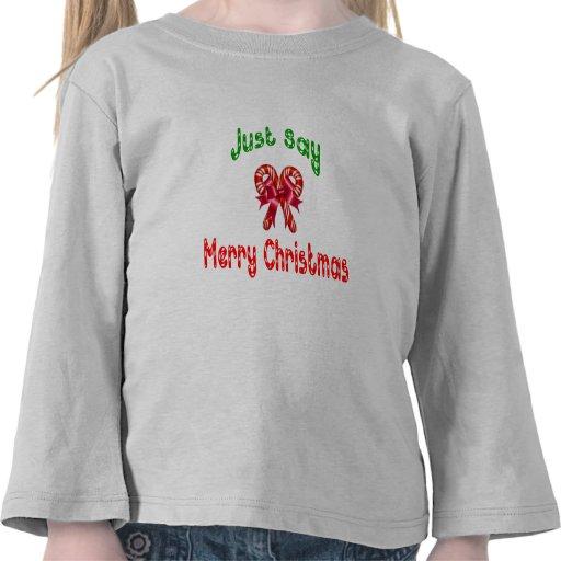 Apenas diga la camisa de los niños de las Felices