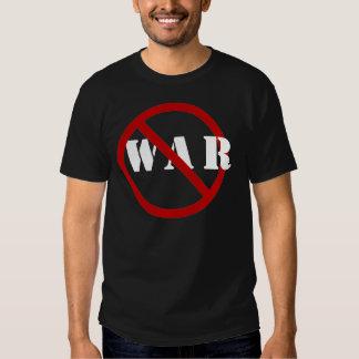 Apenas diga la guerra de NoTo Playera