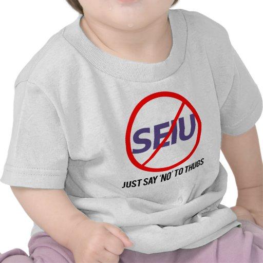 apenas diga no a los gamberros camisetas