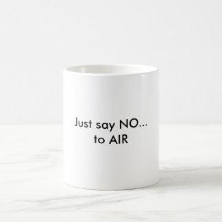 Apenas diga NO Tazas De Café
