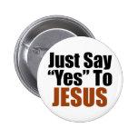 Apenas diga sí a Jesús Pins