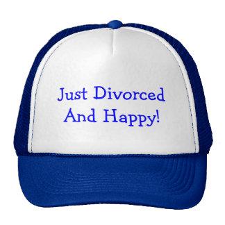 ¡APENAS DIVORCIADO! GORRO
