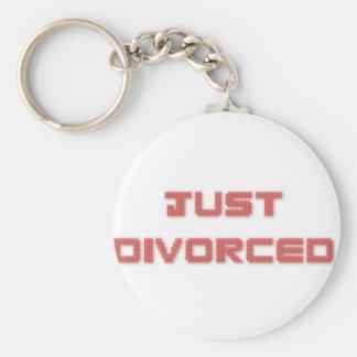 Apenas divorciado llavero personalizado