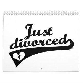 Apenas divorciado calendarios