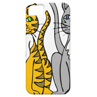 Apenas dos gatos inocentes… iPhone 5 fundas