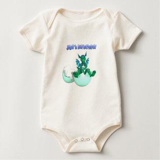Apenas dragón tramado orgánico del bebé mameluco