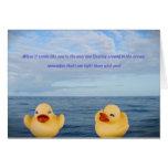 Apenas Duckie… usted no es solo… Felicitaciones