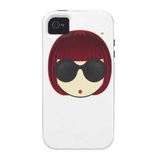 Apenas el caso principal iPhone4 de MEGUMI-O iPhone 4/4S Fundas