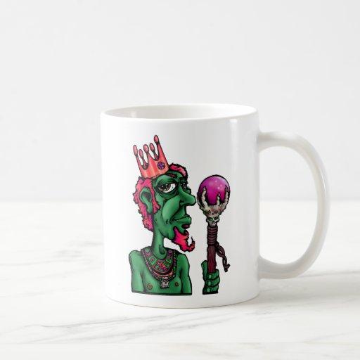 Apenas el Rey-grn, el arte del grifo de Jon y el d Taza De Café
