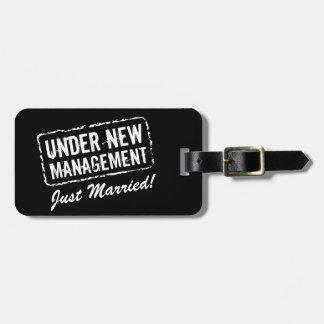 Apenas etiqueta casada el | del equipaje bajo etiqueta de equipaje