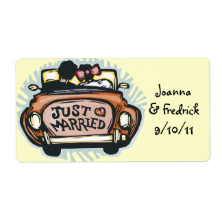 Apenas etiquetas casadas etiqueta de envío