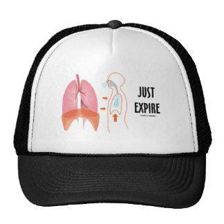 Apenas expire (el humor de la salud/de la medicina gorras de camionero