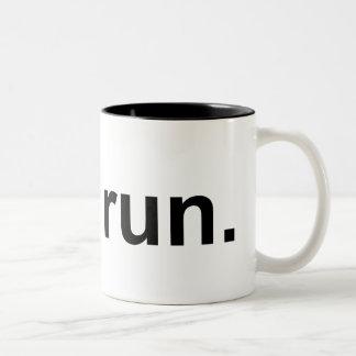Apenas funcionamiento tazas de café