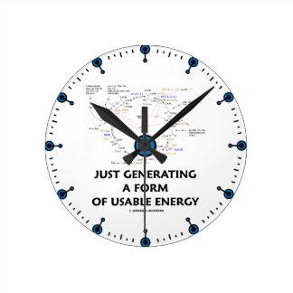 Apenas generando una forma de energía usable (Kreb Reloj