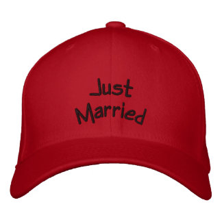 Apenas gorra casado gorra bordada