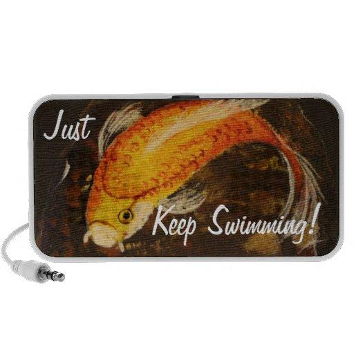 ¡Apenas guarde el nadar! Mini Altavoces