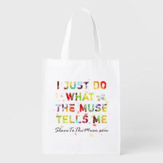 Apenas hago lo que dice la musa me a valor promoci bolsas de la compra