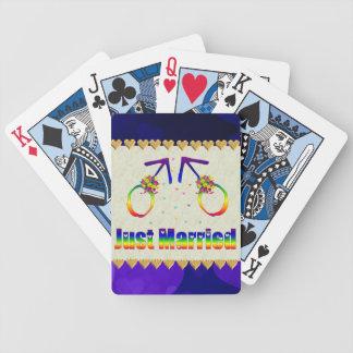 Apenas hombres gay casados barajas de cartas