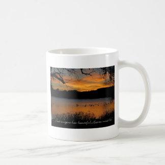 ¡Apenas imagínese cómo el cielo hermoso debe ser! Taza De Café