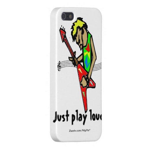 Apenas juego ruidoso iPhone 5 carcasa