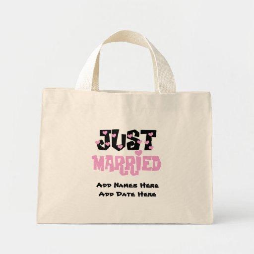 Apenas la bolsa de asas casada personalizada