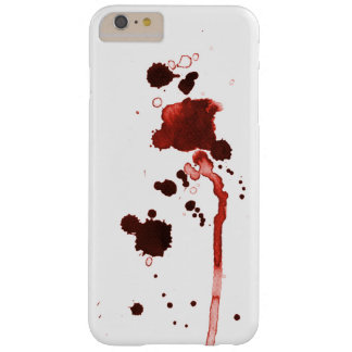 Apenas la caja roja de la salpicadura funda barely there iPhone 6 plus