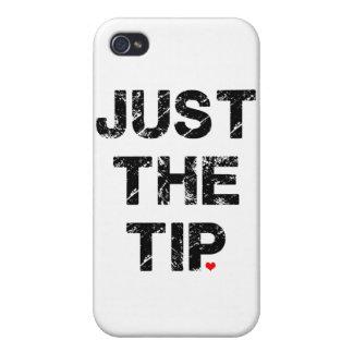 Apenas la ropa y los accesorios de la extremidad iPhone 4/4S carcasas