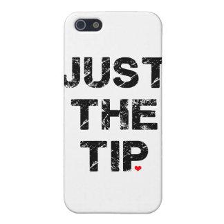 Apenas la ropa y los accesorios de la extremidad iPhone 5 carcasas