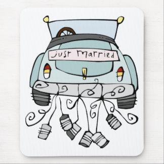 Apenas latas de fricción casadas del coche tapetes de raton