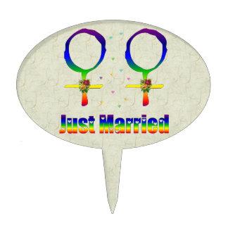Apenas lesbianas casadas decoraciones para tartas