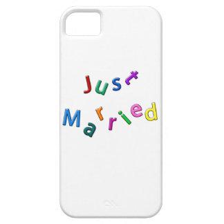 Apenas letras embarulladas casadas iPhone 5 carcasa