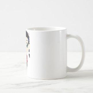 Apenas lindo taza básica blanca