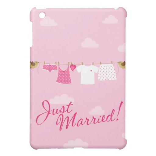 Apenas línea de ropa casada