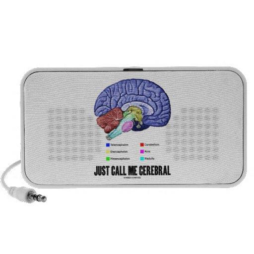 Apenas llámeme cerebral (el humor de la anatomía d notebook altavoces