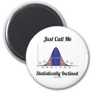 Apenas llámeme inclinado estadístico (la curva de imán redondo 5 cm