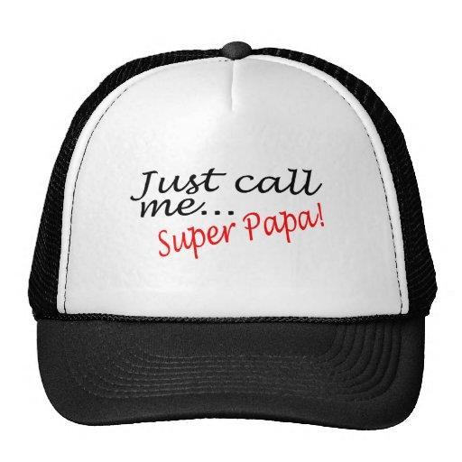Apenas llámeme papá estupenda gorra