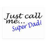 Apenas llámeme papá estupendo postales