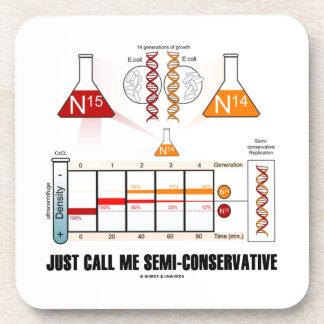 Apenas llámeme Semi-Conservador (la réplica de la Posavaso