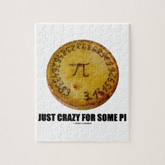 Apenas loco para un cierto pi (pi/humor de la mate puzzle con fotos