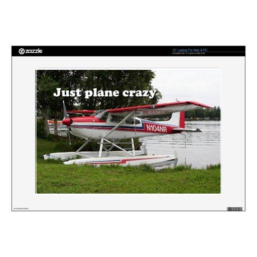 Apenas loco plano: Avión del flotador de Cessna, A Skins Para 38,1cm Portátil