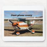 Apenas loco plano: Aviones de Cessna Skyhawk Alfombrilla De Ratón