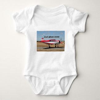 Apenas loco plano: Aviones de los yacs Body Para Bebé
