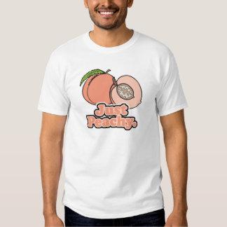 Apenas melocotón amelocotonado camisas