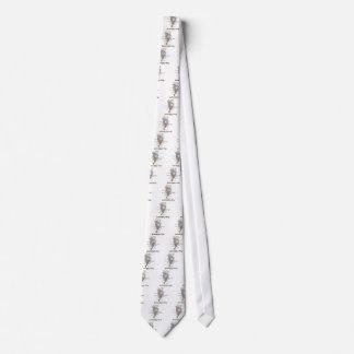Apenas míreme en el ojo (la anatomía) corbata personalizada
