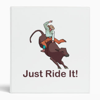 Apenas móntelo vaquero y Bull