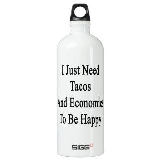 Apenas necesito el Tacos y la economía ser feliz
