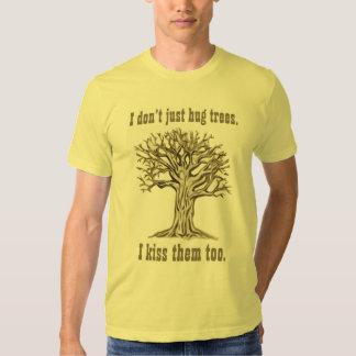 Apenas no abrazo la camiseta de los E.E.U.U. de Playera