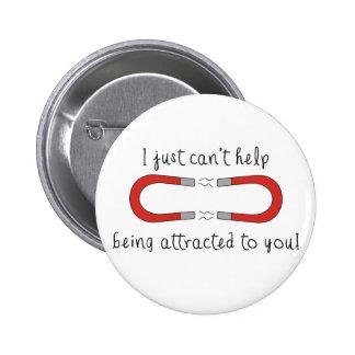Apenas no puedo dejar de ser atraída a usted pin