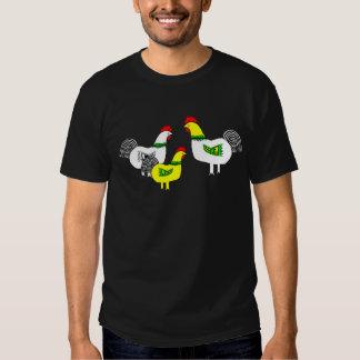 Apenas nosotros camiseta de los pollos camisas