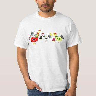 Apenas nosotros camiseta de los pollos remeras